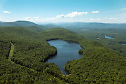 High above Silver Lake and Fern Lake in Leicester, Vermont and the Otter Valley near Brandon, Vermont.