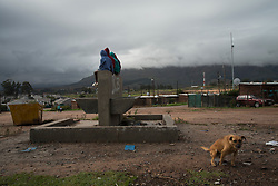 Children playing in Jamestown, which is located in the Cape Winelands, one of the districts in the Western Cape that has been designated a hotspot area, in terms of people testing positive for COVID-19. When South Africa moves down to Stage 3 of the nationwide lockdown on June 1st, hotspots areas will remain under stricter regulations and surveillance, per the latest government announcements. PHOTO: EVA-LOTTA JANSSON