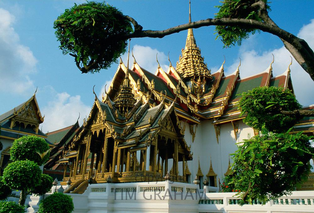 Detail of the Grand Palace (the King's Palace), Bangkok, Thailand
