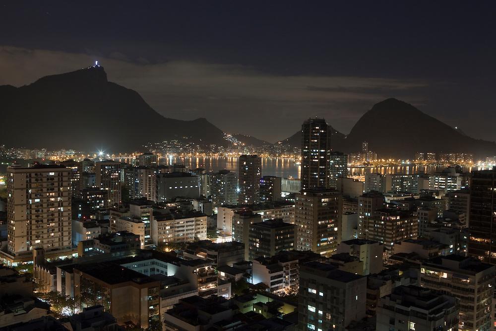 Ipanema beach in Rio de Janeiro, Brazil.