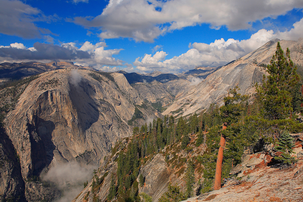 North Dome And Tenaya Canyon - Yosemite