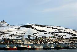 NORWAY HAMMERFEST 23MAR07 - Fishing port in Hammerfest, the world's most northerly town...jre/Photo by Jiri Rezac..© Jiri Rezac 2007..Contact: +44 (0) 7050 110 417.Mobile:  +44 (0) 7801 337 683.Office:  +44 (0) 20 8968 9635..Email:   jiri@jirirezac.com.Web:    www.jirirezac.com..© All images Jiri Rezac 2007 - All rights reserved.