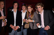 Sam Paget-Stevenson, George Northcott, Count Nicolai von Bismark, Princess Beatrice, Freddie Ryecart, Hot Ice party hosted by Dominique Heriard Dubreuil and Theo Fennell, ( Remy Martin and theo Fennell) at 35 Belgrave Sq. London W1. 26 October 2004. ONE TIME USE ONLY - DO NOT ARCHIVE  © Copyright Photograph by Dafydd Jones 66 Stockwell Park Rd. London SW9 0DA Tel 020 7733 0108 www.dafjones.com
