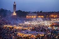 Jemaa El Fna Night Market, Marrakesh Morocco