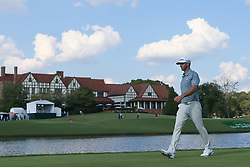 September 20, 2018 - Atlanta, Georgia, United States - Dustin Johnson walks off the 16th tee during the first round of the 2018 TOUR Championship. (Credit Image: © Debby Wong/ZUMA Wire)