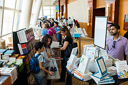 Interior of venue at Emirates Airlines Festival of Literature 2016 in Dubai, United Arab Emirates