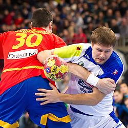20130125: ESP, Handball - Semifinal at IHF Handball World Championship Spain 2013, Spain vs Slovenia