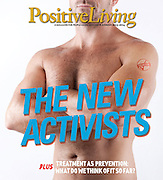 Positive Living Magazine cover