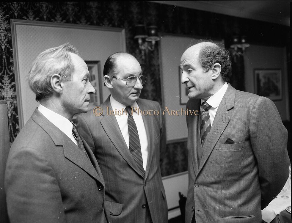 Irish-Italian business association lunch with Mr. Lorenzo the Italian ambassador at Caesar, Dublin,<br /> 11th May 1984