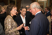 RACHEL BILLINGTON; COUNT ADAM ZAMOYSKI; THE PRINCE OF WALES, Everyman 25th Anniversary party, Spencer House. St. James' Place. London. SW1. 26 October 2016