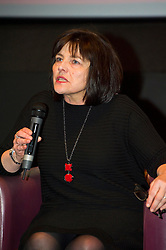 Pictured: Jeane Freeman <br /> <br /> The Ken Loach film 'I, Daniel Blake' was given a special screening in Edinburgh today in front of  anti-austerity campaigners. The event was arranged by William Black who was joined by the screenwriter, Paul Laverty, Minister for Social Security in Scotland Jeane Freeman, Lewis Akers, member of the Scottish Youth Parliament for Dunfermline, Mikle Valance, ACE and Action Against Poverty, Bill Scott, Inclusion Scotland with Sasha Gallagher afrom Disability History Scotland acting as co-ordinater of the Q&A. <br /> <br /> (c) Ger Harley | Edinburgh Elite media