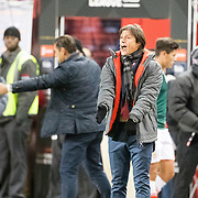 HARRISON, NEW JERSEY- APRIL 10:  Matias Almeyda, Manager of C.D. Guadalajara on the sideline during the New York Red Bulls Vs C.D. Guadalajara CONCACAF Champions League Semi-final 2nd leg match at Red Bull Arena on April 10, 2018 in Harrison, New Jersey. (Photo by Tim Clayton/Corbis via Getty Images)
