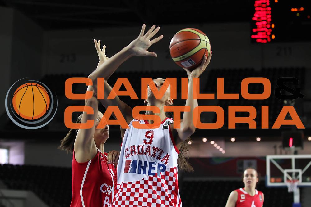 DESCRIZIONE : Ankara Turkey FIBA Olympic Qualifying Tournament for Women 2012 Croatia Canada Croazia Canada<br /> GIOCATORE : Marija VRSALJKO<br /> SQUADRA : Croatia Croazia<br /> EVENTO :  FIBA Olympic Qualifying Tournament for Women 2012<br /> GARA : Croatia Canada Croazia Canada<br /> DATA : 29/06/2012<br /> CATEGORIA : <br /> SPORT : Pallacanestro <br /> AUTORE : Agenzia Ciamillo-Castoria/ElioCastoria<br /> Galleria : FIBA Olympic Qualifying Tournament for Women 2012<br /> Fotonotizia : Ankara Turkey FIBA Olympic Qualifying Tournament for Women 2012 Croatia Canada Croazia Canada<br /> Predefinita :