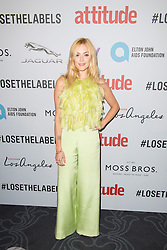EDITORIAL USE ONLY<br /> Fearne Cotton attends the 2016 Attitude Awards in association with Virgin Holidays, at 8 Northumberland Avenue, London.