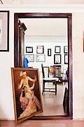Pansodan Art Gallery, Yangon, Myanmar.