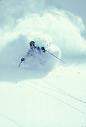THIS PHOTO IS AVAILABLE FOR WEB DOWNLOAD ONLY. PLEASE CONTACT US FOR A LARGER PHOTO. Idaho. Bogus Basin, Alpine skiing.