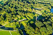 Nederland, Utrecht, Bunnik, 23-08-2016; Fort bij Vechten, onderdeel van de Nieuwe Hollandse Waterlinie. Tegenwoordig Waterliniemuseum.<br /> Fort bij Vechten, near Utrecht, part of the New Dutch Waterline (defense line).<br /> aerial photo (additional fee required); <br /> luchtfoto (toeslag op standard tarieven);<br /> copyright foto/photo Siebe Swart