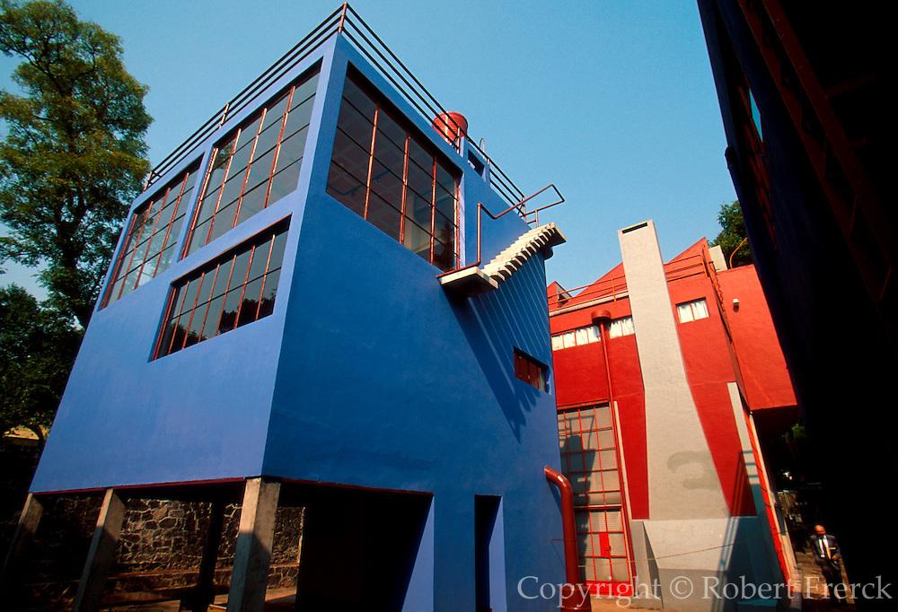 MEXICO, SAN ANGEL Rivera and Frida Kahlo home and studio