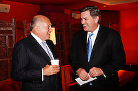 Doug Morris Chairman and CEO of Universal Music Group and Tim Leiweke President and CEO of AEG attend The City of Hope Man of the Year Award at which Tim Leiweke was honored as man of the year at The Nokia Theater Times Square on May 28, 2009.. ..Photo credit; Rahav Segev / Photopass