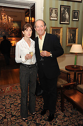 A party to promote the exclusive Puntacana Resort & Club - the Caribbean's Premier Golf & Beach Resort Destination, was held at Spencer House, London on 13th May 2010.<br /> <br /> Picture shows:- ALASDAIR & CROLYN HADDEN PATON