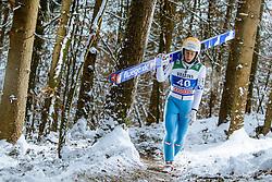 05.01.2015, Paul Ausserleitner Schanze, Bischofshofen, AUT, FIS Ski Sprung Weltcup, 63. Vierschanzentournee, Training, im Bild Thomas Diethart (AUT) // during Training of 63rd Four Hills <br /> Tournament of FIS Ski Jumping World Cup at the Paul Ausserleitner Schanze, Bischofshofen, Austria on 2015/01/05. EXPA Pictures © 2015, PhotoCredit: EXPA/ JFK