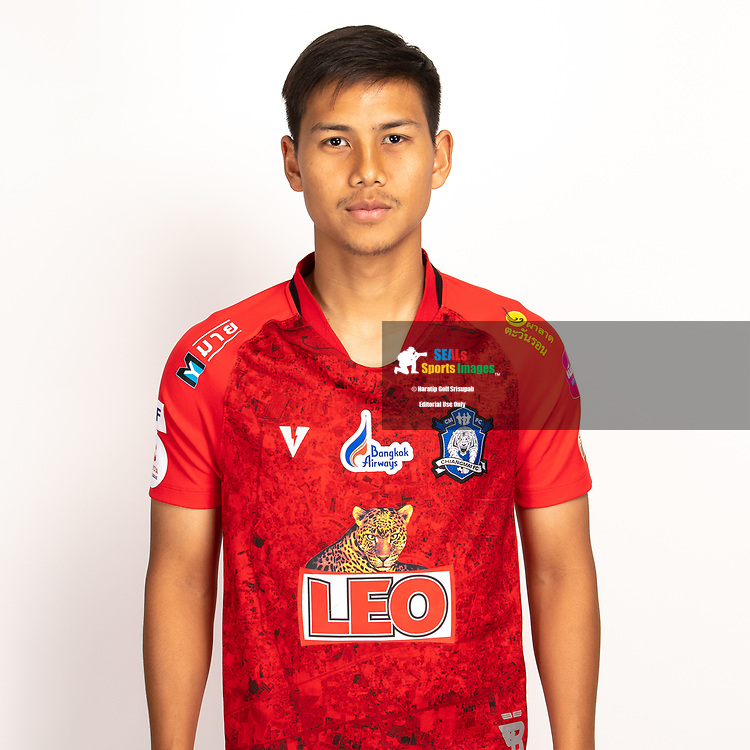 THAILAND - JUNE 03: Surawich Logarwit #8 of Chiangmai FC on June 03, 2019.<br /> .<br /> .<br /> .<br /> (Photo by: Naratip Golf Srisupab/SEALs Sports Images/MB Media Solutions)