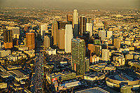 Downtown Los Angeles featuring Harbor Freeway & LA Live