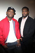 l to r: Sean C. and D'Prosper at The ROOTS Present the Jam produced by Jill Newman Productions held at Highline Ballroom on April 29, 2009 in New York City