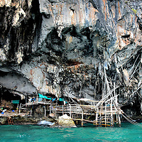 Bird&rsquo;s Nest Cave on Phi Phi Ley, Thailand<br />