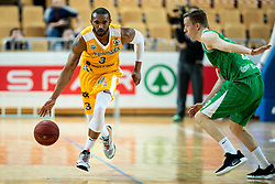 Lance Harris of Sixt Primorska during basketball match between KK Sixt Primorska and KK Petrol Olimpija in semifinal of Spar Cup 2018/19, on February 16, 2019 in Arena Bonifika, Koper / Capodistria, Slovenia. Photo by Vid Ponikvar / Sportida