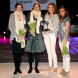 14-12-2009 ALGEMEEN: TOPSPORT GALA AMSTERDAM: AMSTERDAM<br /> Femke Heemskerk en Ellen Hoog<br /> ©2009-WWW.FOTOHOOGENDOORN.NL