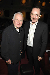 Left to right, actors SIR IAN HOLM and KEVIN SPACEY at the Grand Classic screening of The Apartment held at The Electric Cinema, 191 Portobello Road, London on 16th March 2008.<br />