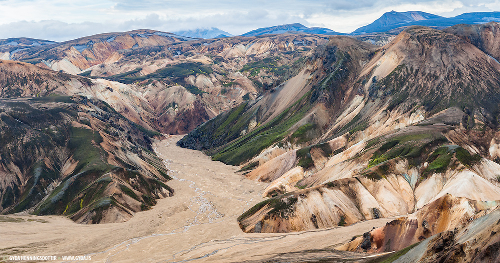 Landmannalaugar in South Iceland