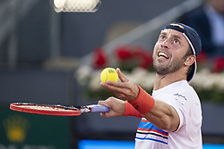 May 8, 2018 - Madrid, Spain - Italian Paolo Lorenzi during Mutua Madrid Open 2018 at Caja Magica in Madrid, Spain. May 08, 2018. (Credit Image: © Coolmedia/NurPhoto via ZUMA Press)