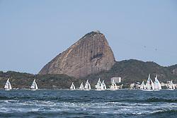 SONAR Flotilla under the Sugarloaf, Sailing, Voile à Rio 2016 Paralympic Games, Brazil