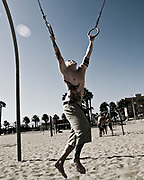 Santa Monica, Muscle Beach, California, 2009