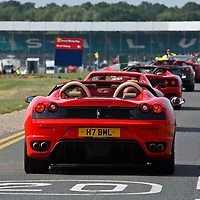 F430 Spider at Silverstone Ferrari Racing Day, 15th-16th September 15 2012