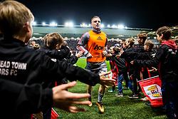 Luke Shaw of Manchester United comes in from the warmup - Rogan/JMP - 20/12/2017 - Ashton Gate Stadium - Bristol, England - Bristol City v Manchester United - Carabao Cup Quarter Final.