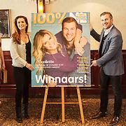 NLD/Volendam/20150305 - Winston Gerschtanowitz onthult grootste 100%NL Magazine aller tijden, samen met Quinty Trustfull - van den Broek