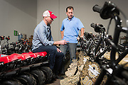 01/14/2016 123020 -- Garland, TX -- © Copyright 2016 Mark C. Greenberg<br /> <br /> CEO Alex Keechle and President and COO Rick Sukkar of Garland, Texas based Monster Moto.