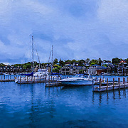 """Charlevoix Michigan Painting""<br />