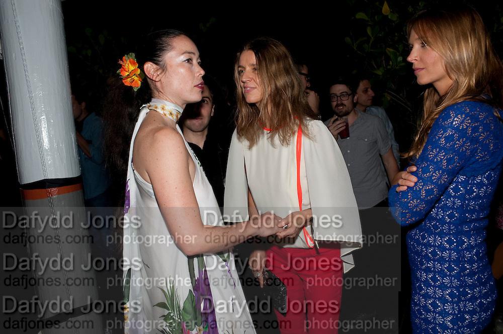 KARLA OTTO, Visionaire party. Delano  Hotel.  Miami Art Basel 2011. 2December 2011.
