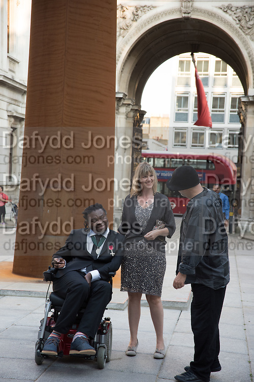 YINKA SHONIBARE; RON ARAD, Royal Academy Annual dinner, Piccadilly, London. 6 June 2016
