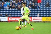 Huddersfield Midfielder Jamie Patterson during the Sky Bet Championship match between Preston North End and Huddersfield Town at Deepdale, Preston, England on 6 February 2016. Photo by Pete Burns.