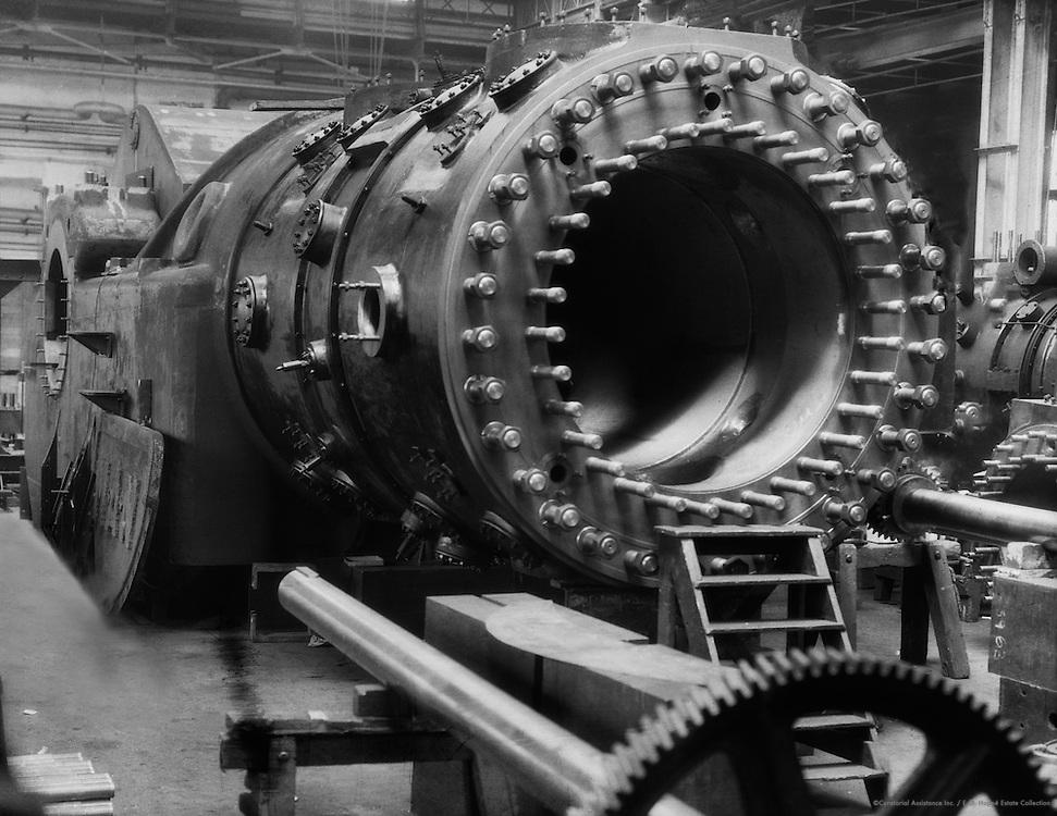 Cylinder of a 5,000 pS Gas Engine, MAN Maschinenfabrik Augsburg-Nürnberg, Nürnberg, 1928