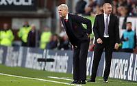 Football - 2016 / 2017 Premier League - Burnley v Arsenal at Turf Moor<br /> <br /> Arsene Wenger Arsenal manager <br /> <br /> COLORSPORT/LYNNE CAMERON
