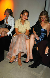 Left, JADE JAGGER at a party to celebrate the first 20 years of fashion label Donna Karan held at her store at 19/20 New Bond Street, London W1 on 21st September 2004.<br /><br />NON EXCLUSIVE - WORLD RIGHTS