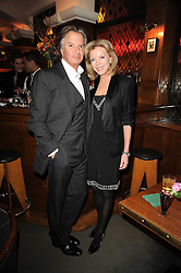 RICHARD CARING and his wife JACKIE at 'Heavenly Ivy' a play to commemorate 20 years of The Ivy Restaurant, held at The Ivy, West Street, London on 8th November 2010.