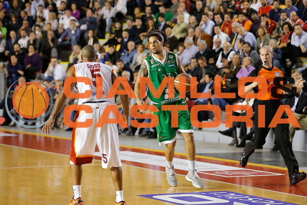 DESCRIZIONE : Roma Lega A 2012-13 Acea Virtus Roma Montepaschi Siena<br /> GIOCATORE : Daniel Hackett<br /> CATEGORIA : palleggio<br /> SQUADRA : Montepaschi Siena<br /> EVENTO : Campionato Lega A 2012-2013 <br /> GARA : Acea Virtus Roma Montepaschi Siena<br /> DATA : 12/11/2012<br /> SPORT : Pallacanestro <br /> AUTORE : Agenzia Ciamillo-Castoria/ElioCastoria<br /> Galleria : Lega Basket A 2012-2013  <br /> Fotonotizia : Roma Lega A 2012-13 Acea Virtus Roma Montepaschi Siena<br /> Predefinita :