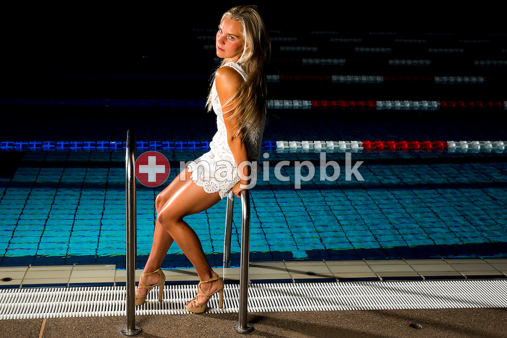 Swimmer Sasha TOURETSKI of Switzerland is pictured during a portrait photo session at the Centro sportivo nazionale della gioventu in Tenero, Switzerland, Friday, June 5, 2015. (Photo by Patrick B. Kraemer / MAGICPBK)